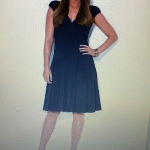 Lauren Ralph Lauren Plus Size Ruched Cap-Sleeve